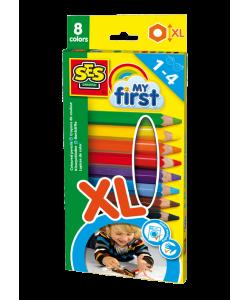 Lápis de cor - Os meus primeiros lápis