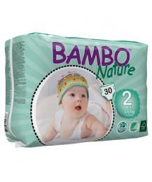 Fraldas Bamboo Nature 3-6 kgs