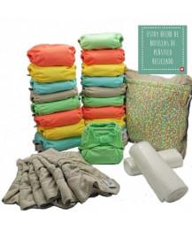 Fraldas Pop-in 2020 Pastel - Pack x 20 - 3.5 aos 16kg