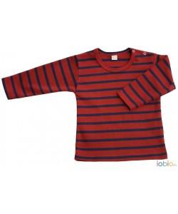 Camisola Riscas Vermelha