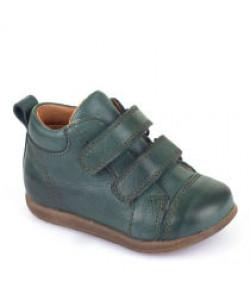Botas Velcro Verde Escuro